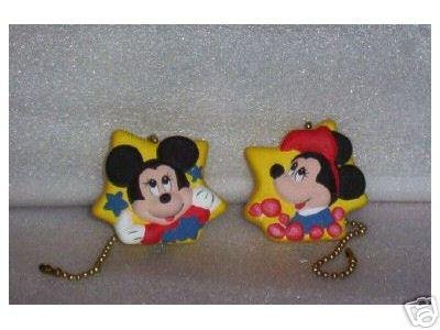 Mickey and Minnie Mouse ceiling fan pulls NEW full 3-D design (2)