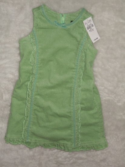 Children's Place Spring Green Dress size 6-9 months