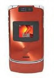 Motorola V3XX Cell Phone (unlocked) - Orange