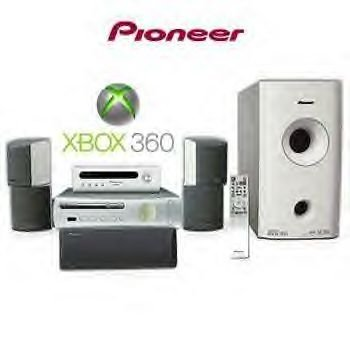 Pioneer hts-gs1 600W 5.1 Surround Sound System XBOX 360