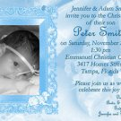 Photo Baptism and Christening Invitations 5 x 8
