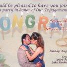 Celebration Cake Ring Photo Engagement & Wedding Announcements 5 x 8