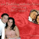 Any Color up to 5 pics Photo Engagement and Wedding Announcements 5x8
