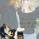 Multi Photo Collage Photo Engagement and Wedding Announcements 5 x 8