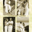 Photo Engagement and Wedding Announcements 5 x 8 Golden & 4 Photos