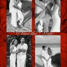 Red Roses 4 Photos Photo Engagement and Wedding Announcements 5 x 8