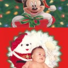 Festive and Cheerful Custom Photo Christmas Cards 5 x 8