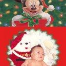 Festive and Cheerful Custom Photo Christmas Cards 5 x 8