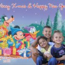 Custom Photo Christmas Cards 5 x 8 with Family Photo