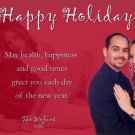 Custom Any Color Personalized Custom Photo Christmas Cards 5 x 8