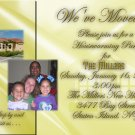 Classy Photo Moving Announcement & Housewarming Party Invitations