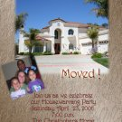 Multi-Photo Photo Moving Announcement Housewarming Party Invitations