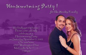Photo Moving Announcement & Housewarming Party Invitations Any Color