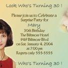 Any Color Multi Photos Photo Adult Birthday Invitations