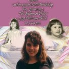 Pink Candles Woman's Birthday Collage Photo Adult Birthday Invitation