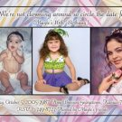Celebration Candles Now and Then Photo Adult Birthday Invitations