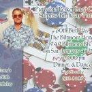 Casino Poker or Vegas Themed Party Photo Adult Birthday Invitations