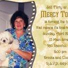 Elegant Filmstrip Golden Roses Photo Adult Birthday Invitations
