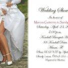 Sexy Modern Bride Personalized Photo Bridal Shower Invitations