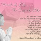 Bread of Life Photo Communion Invitations & Confirmation Invitations