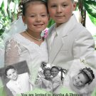 Collage of Photos Photo Communion Invitations & Confirmation