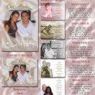 Royal Ball Princess Folded Photo Wedding Invitations Package