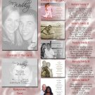 Full Picture in Black & White Folded Photo Wedding Invitations Package