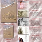 Beach Sand and Heart Folded Photo Wedding Invitations Package