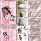 Multi Photo Pink or Any Color Photo Quinceanera Sweet 16 Invitations