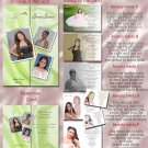 Multi Photo Green or Any Color Photo Quinceanera Sweet 16 Invitations