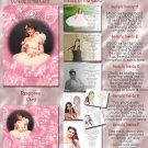Pink Roses or Any Color Photo Quinceanera Sweet 16 Invitations Pkge
