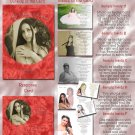 Red Roses or Any Color Photo Quinceanera Sweet 16 Invitations Pkge
