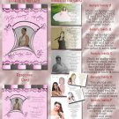 Goovy in Pink Folded Photo Quinceanera / Sweet 16 Invitations Package