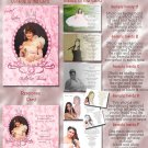 Crowned Princes Pink Photo Quinceanera / Sweet 16 Invitations Pkge
