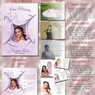 Princess Tiara Lilac Folded Photo Quinceanera Sweet 16 Invitations Pkg