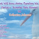 Photo Baby Shower Invitations Stork Optional Photos and Ultrasound pic
