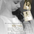 Multi Pictures Photo Communion Invitations & Confirmation Invitations
