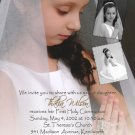 Multi Pictures Collage Photo Communion Invitations & Confirmation