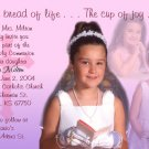 Multi Pics in Pink Lavender Photo Communion Invitations & Confirmation