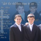 Multi Photo in Dark Blue Photo Communion Invitations & Confirmation