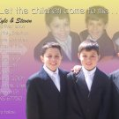 Multi Pics in Yellow Purple Photo Communion Invitations & Confirmation