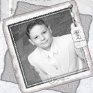 Graceful in Silver Photo Communion Invitations & Confirmation