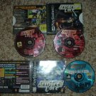 Armored Core and AC: Master of Arena (Sony Playstation PS1) 2 great games For Sale