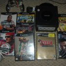 Nintendo Gamecube console system +  8 video games, controller, and all hookups, for sale