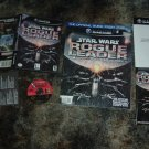 Star Wars Rogue Leader: Rogue Squadron II (Gamecube Wii) COMPLETE + Strategy Guide FOR SALE