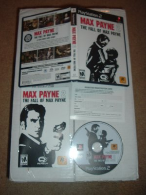 Max Payne 2: The Fall of Max Payne (PS2) 100% COMPLETE & Very Excellent condition game for sale