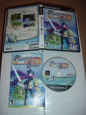 Phantom Brave (PS2 RPG by NIS America) VERY EXCELLENT & COMPLETE IN CASE game for sale