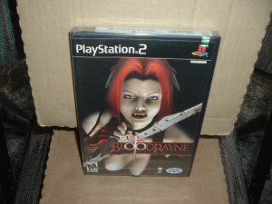 SEALED Bloodrayne (PS2) BRAND NEW ORIGINAL Black-Label Release, RARE to find For Sale