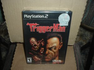 SEALED TriggerMan (PS2) BRAND NEW Trigger Man game For Sale, save $$ by combining items