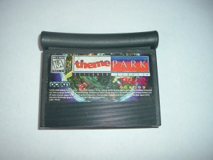 Theme Park (Atari Jaguar GAME, think Sim Theme Park, same concept) game FOR SALE